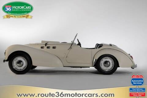 1952 Allard K2 ROADSTER for sale at ROUTE 36 MOTORCARS in Dublin OH