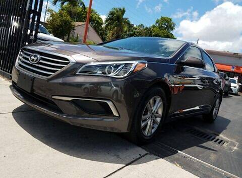 2017 Hyundai Sonata for sale at MATRIX AUTO SALES INC in Miami FL