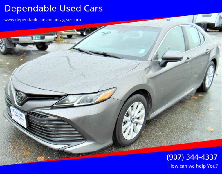 2018 Toyota Camry for sale at Dependable Used Cars in Anchorage AK
