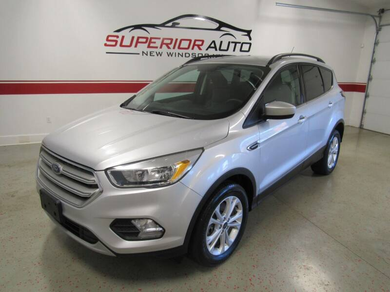 2018 Ford Escape for sale at Superior Auto Sales in New Windsor NY