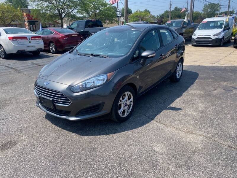 2016 Ford Fiesta for sale at TKP Auto Sales in Eastlake OH