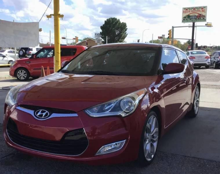 2013 Hyundai Veloster for sale at Fiesta Motors Inc in Las Cruces NM