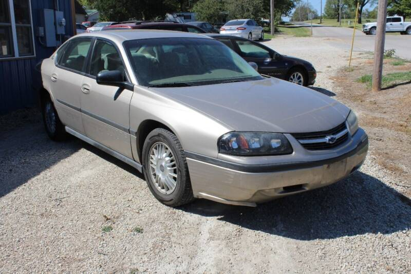 2001 Chevrolet Impala for sale at Bailey & Sons Motor Co in Lyndon KS