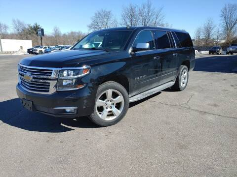 2015 Chevrolet Suburban for sale at Cruisin' Auto Sales in Madison IN