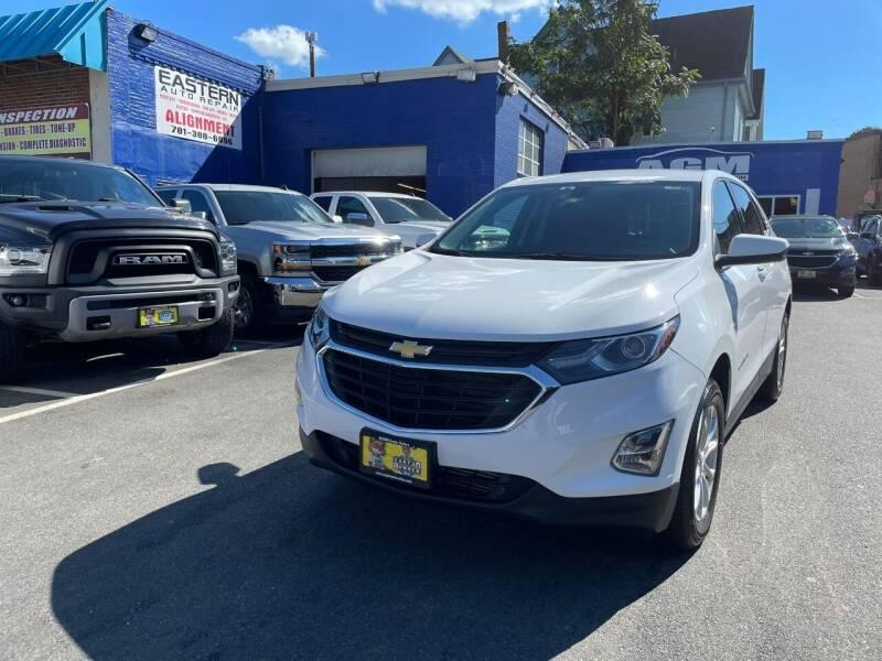2019 Chevrolet Equinox for sale at AGM AUTO SALES in Malden MA
