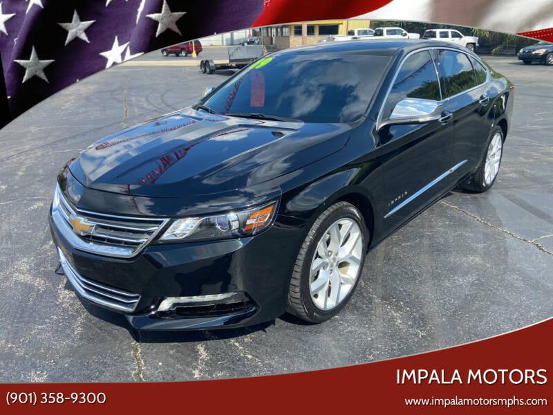 2019 Chevrolet Impala for sale at IMPALA MOTORS in Memphis TN