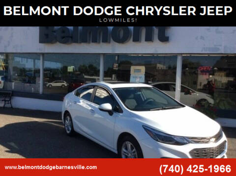 2018 Chevrolet Cruze for sale at BELMONT DODGE CHRYSLER JEEP in Barnesville OH