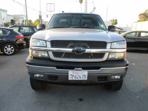 2005 Chevrolet Silverado 1500 for sale at Car House in San Mateo CA