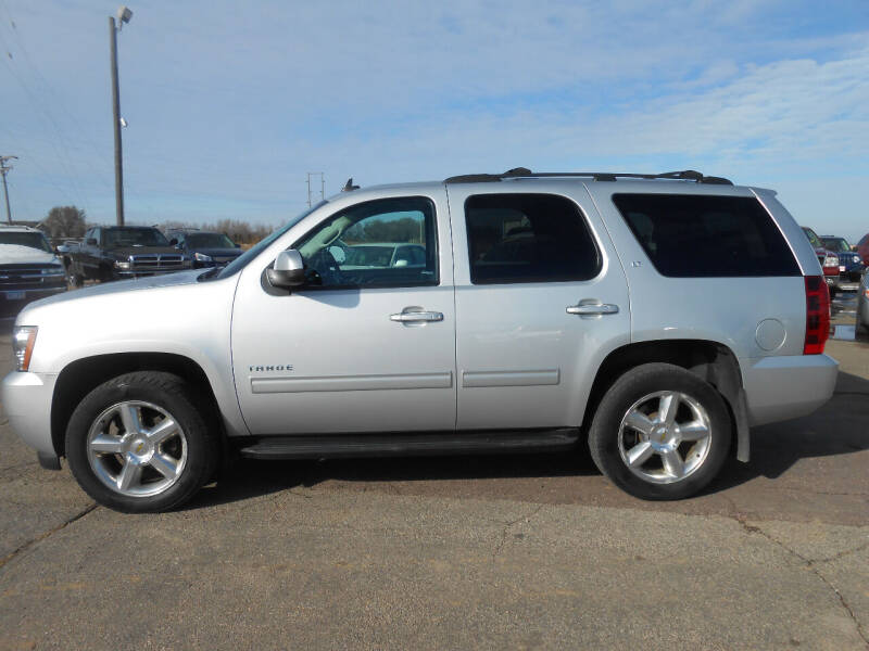 2013 Chevrolet Tahoe for sale at Salmon Automotive Inc. in Tracy MN