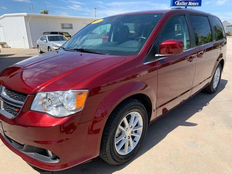 2019 Dodge Grand Caravan for sale at Keller Motors in Palco KS