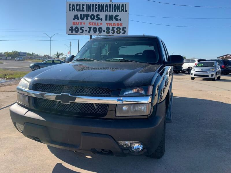 2002 Chevrolet Avalanche for sale at Eagle International Autos Inc in Moore OK