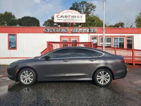 2015 Chrysler 200 for sale at CARFIRST ABERDEEN in Aberdeen MD