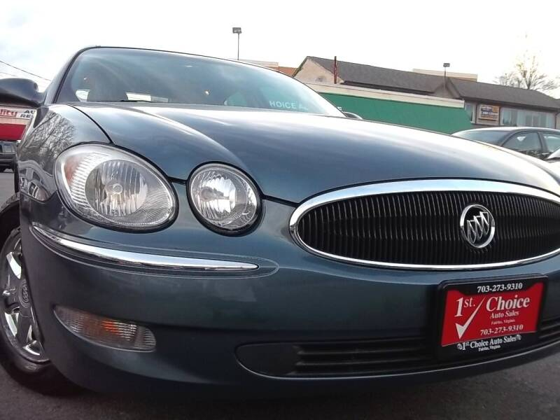 2007 Buick LaCrosse for sale at 1st Choice Auto Sales in Fairfax VA