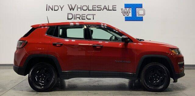 2017 Jeep Compass for sale at Indy Wholesale Direct in Carmel IN