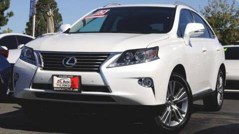 2015 Lexus RX 350 for sale at DL Auto Lux Inc. in Westminster CA