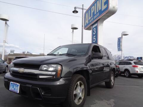 2007 Chevrolet TrailBlazer for sale at Alpine Auto Sales in Salt Lake City UT
