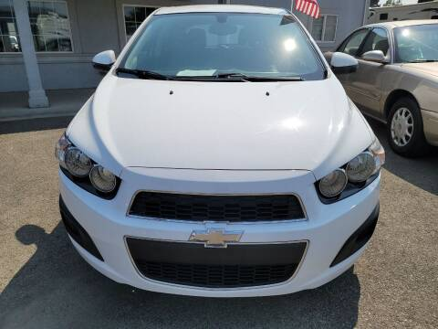 2015 Chevrolet Sonic for sale at Artistic Auto Group, LLC in Kennewick WA