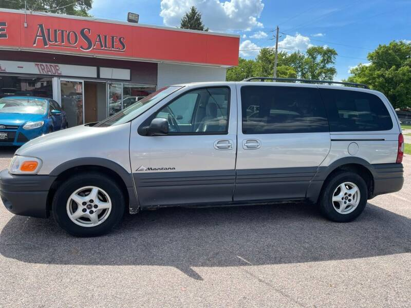 2005 Pontiac Montana for sale at RIVERSIDE AUTO SALES in Sioux City IA