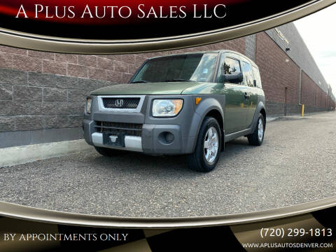 2003 Honda Element for sale at A Plus Auto Sales LLC in Denver CO