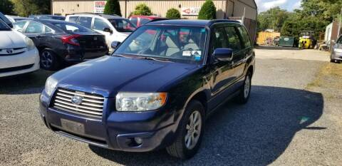 2006 Subaru Forester for sale at Central Jersey Auto Trading in Jackson NJ
