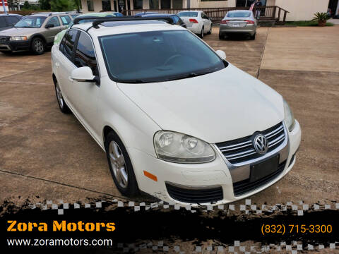 2008 Volkswagen Jetta for sale at Zora Motors in Houston TX