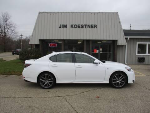 2016 Lexus GS 350 for sale at JIM KOESTNER INC in Plainwell MI