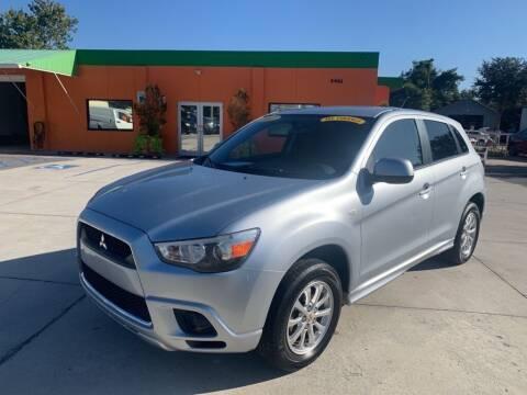 2012 Mitsubishi Outlander Sport for sale at Galaxy Auto Service, Inc. in Orlando FL