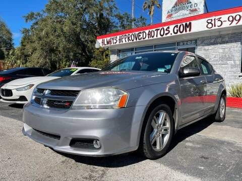 2013 Dodge Avenger for sale at Always Approved Autos in Tampa FL