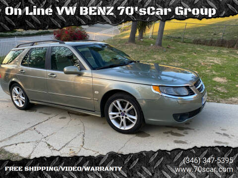 2008 Saab 9-5 for sale at On Line VW BENZ 70'sCar Group in Warehouse CA