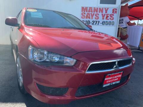 2011 Mitsubishi Lancer for sale at Manny G Motors in San Antonio TX
