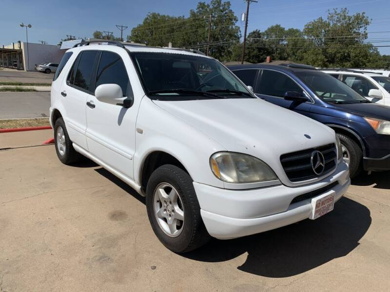 2000 Mercedes-Benz M-Class for sale at KD Motors in Lubbock TX