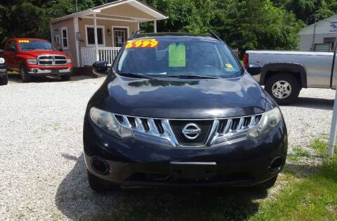 2009 Nissan Murano for sale at ROUTE 68 PRE-OWNED AUTOS & RV'S LLC in Parkersburg WV