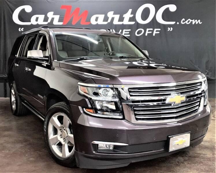 2015 Chevrolet Tahoe for sale at CarMart OC in Costa Mesa CA