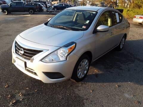 2017 Nissan Versa for sale at Strosnider Chevrolet in Hopewell VA