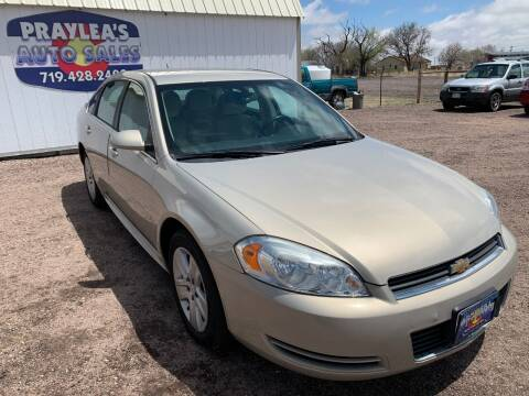 2011 Chevrolet Impala for sale at Praylea's Auto Sales in Peyton CO