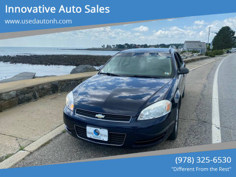 2007 Chevrolet Impala for sale at Innovative Auto Sales in North Hampton NH