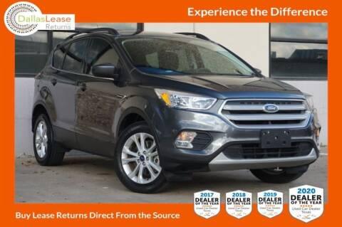 2018 Ford Escape for sale at Dallas Auto Finance in Dallas TX