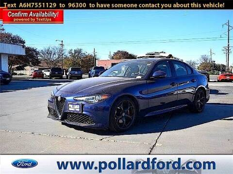 2017 Alfa Romeo Giulia for sale at South Plains Autoplex by RANDY BUCHANAN in Lubbock TX