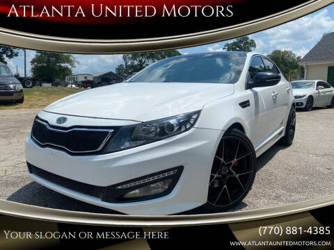 2013 Kia Optima for sale at Atlanta United Motors in Jefferson GA