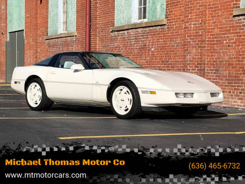 1988 Chevrolet Corvette for sale at Michael Thomas Motor Co in Saint Charles MO
