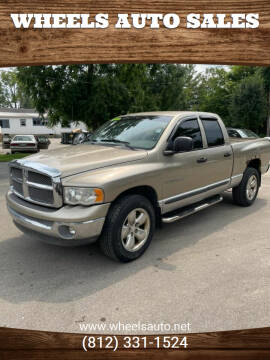 2002 Dodge Ram Pickup 1500 for sale at Wheels Auto Sales in Bloomington IN