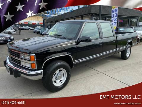 1993 Chevrolet C/K 3500 Series for sale at EMT MOTORS LLC in Portland OR