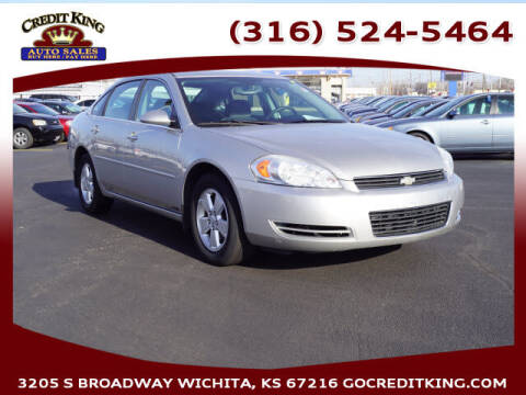 2008 Chevrolet Impala for sale at Credit King Auto Sales in Wichita KS