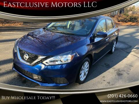 2018 Nissan Sentra for sale at Eastclusive Motors LLC in Hasbrouck Heights NJ