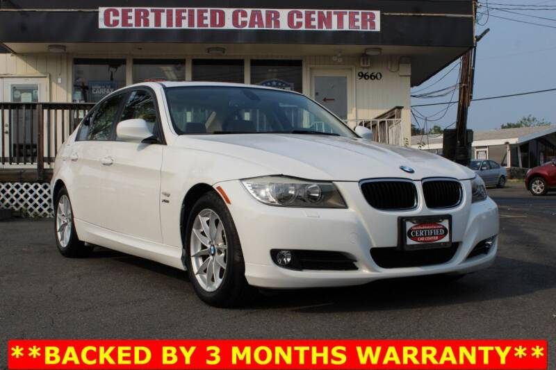 2010 BMW 3 Series for sale at CERTIFIED CAR CENTER in Fairfax VA