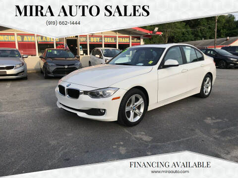 2015 BMW 3 Series for sale at Mira Auto Sales in Raleigh NC