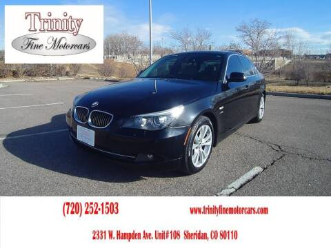 2010 BMW 5 Series for sale at TRINITY FINE MOTORCARS in Sheridan CO