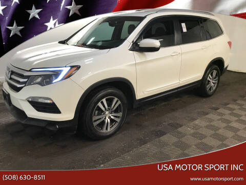 2018 Honda Pilot for sale at USA Motor Sport inc in Marlborough MA