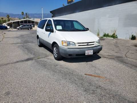2000 Toyota Sienna for sale at Silver Star Auto in San Bernardino CA