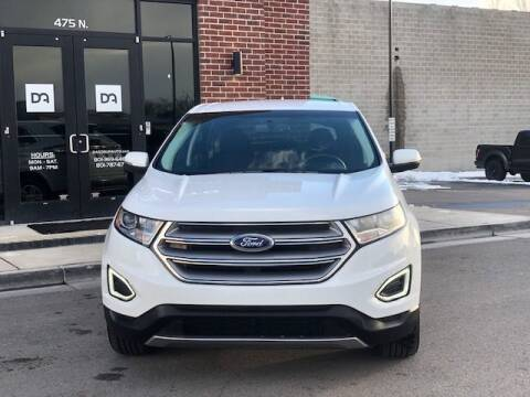 2018 Ford Edge for sale at Dastrup Auto in Lindon UT
